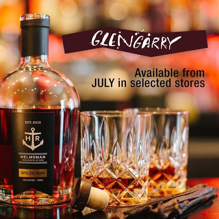 From July Helmsman Spiced Rum will be available at selected Glengarry stores and online at www.glengarry.co.nz ... Get in and enjoy! ⚓️ @glengarrywines #HelmsmanRum #SpicedRum #TakeTheHelm