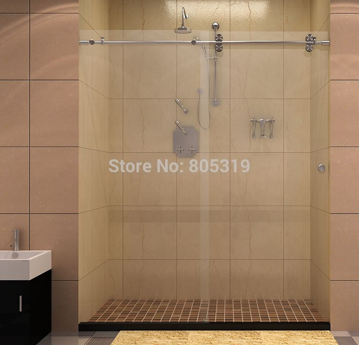 "185.00$  Watch now - http://alik72.shopchina.info/1/go.php?t=1335290528 - ""60""""Twin Roller Sliding Shower door hardware,barn shower door hardware""  #shopstyle"