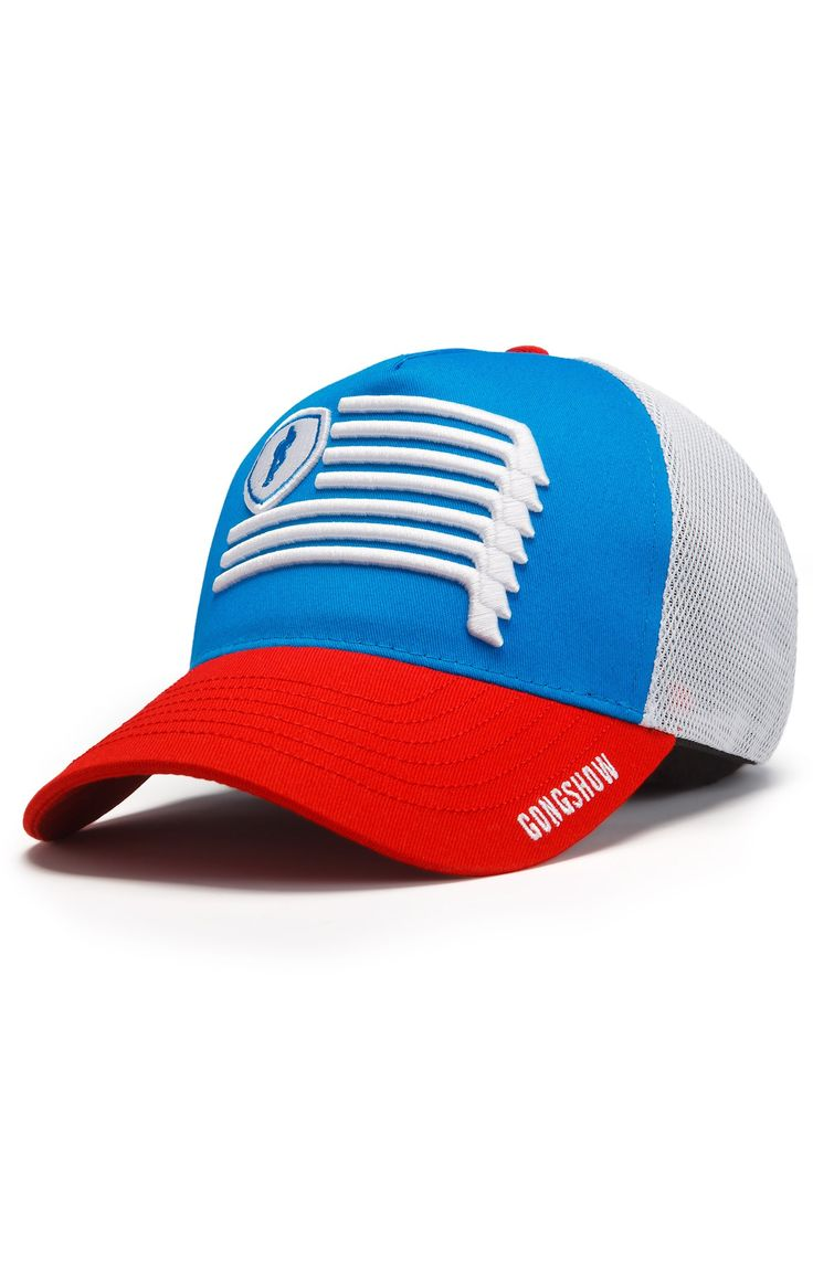 Iron Bound And South USA Hockey Hat - Gongshow Gear - Lifestyle Hockey Apparel