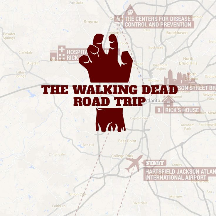 The Walking Dead road trip: Your 13-stop tour of the show's best filming locations. My Saturday!