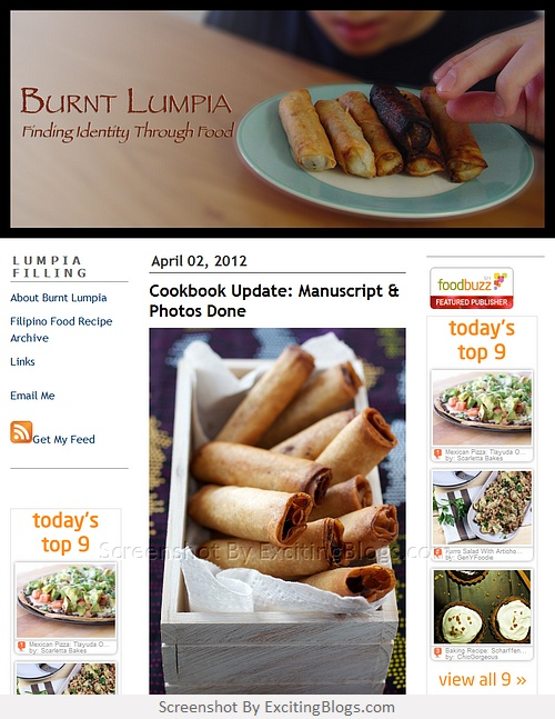 445 best food blogs images on pinterest food blogs 1 and diners burnt lumpia filipino food filipino recipes culinary hijinks click to visit site forumfinder Gallery