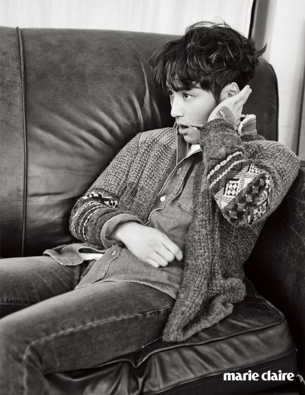 Byun Yo Han - Marie Claire Magazine January Issue '15