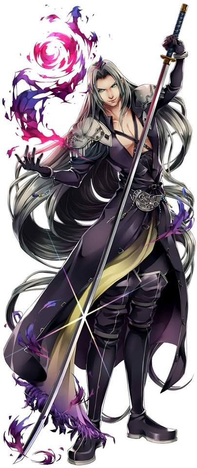 Sephiroth Final Fantasy VII http://www.pixiv.net/member_illust.php?mode=medium&illust_id=58073511