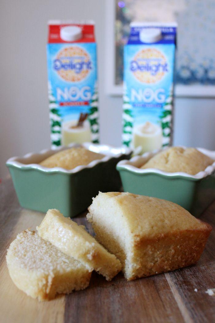 Eggnog Rum Cake Recipe Mini Loaf Pan