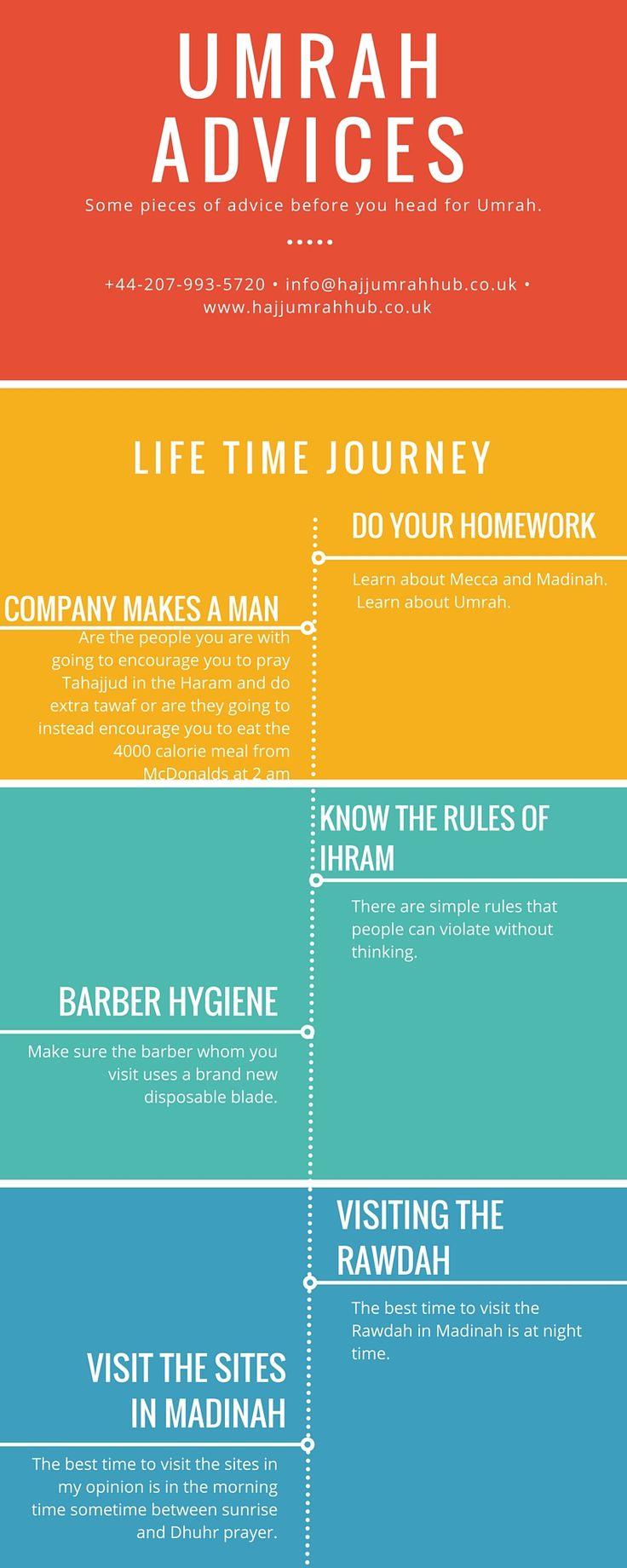 Umrah advice to follow before umrah