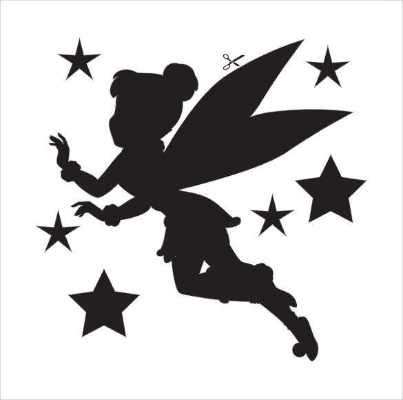 Best 25 tinkerbell pumpkin template ideas on pinterest for Pumpkin carving silhouettes