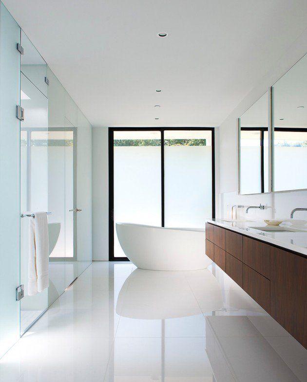 Des idées de salle de bain moderne et minimaliste | BricoBistro