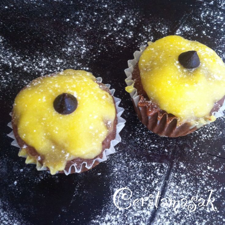Banana Chocolate Lemon Cupcake  