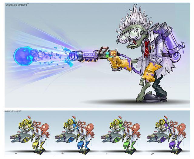 ¿Cómo fueron creados los personajes de Plants vs Zombies Garden Warfare? - Noticias EA