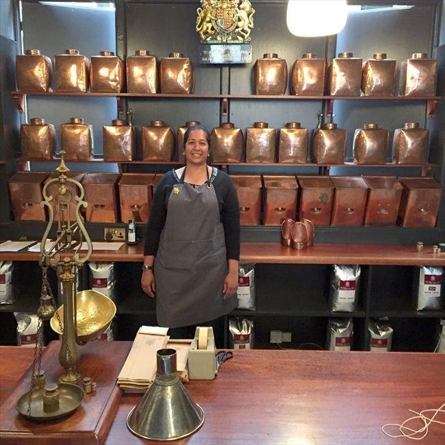 伝統と現代性 英国王室御用達のコーヒー屋 - モードな街角 - 朝日新聞デジタル&w