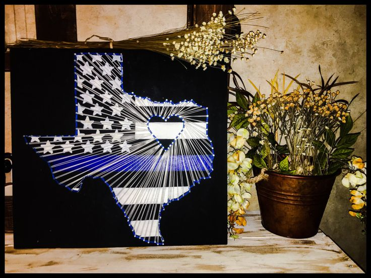 A personal favorite from my Etsy shop https://www.etsy.com/listing/465862935/made-to-order-thin-blue-line-texas