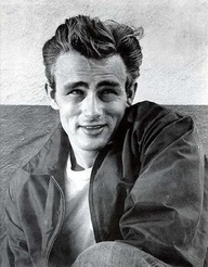 James Dean -male old hollywood stars