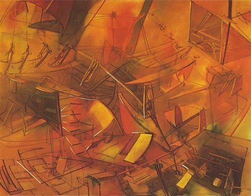 Roberto MATTA.Pintor Chileno.  (1911-2002)