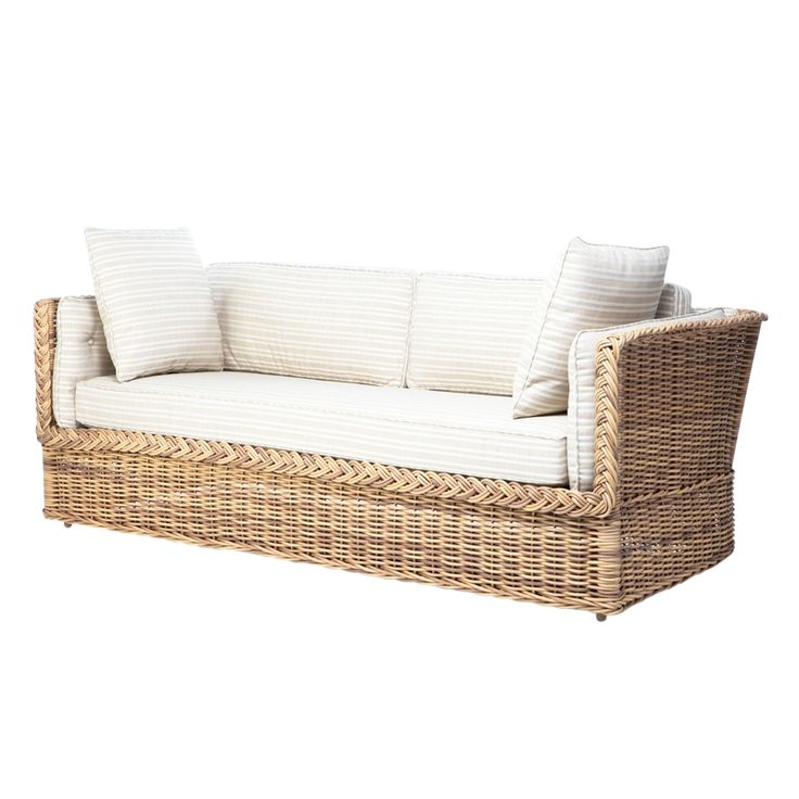 Create The Cozy Outdoor With Wicker Daybed Ideas