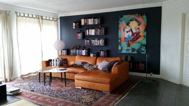 Ny malet stue