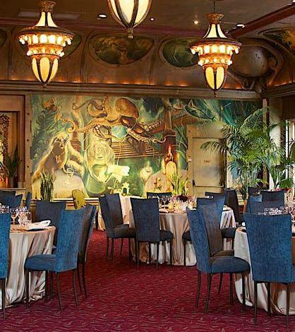 private dining room interior design of credo restaurant san
