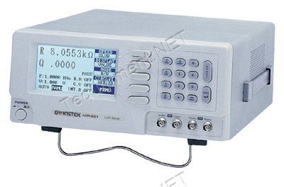 GW Instek LCR-817 High-End Precision Digital LCR Meter, 12Hz to 100kHz Test Frequency  Test frequency: 12Hz to 100kHz, continuously variable frequencies  0.05 percent high Measurement accuracy  100 Sets memory for save/recall of setup state  R/Q, C/D, C/R, L/Q test modes
