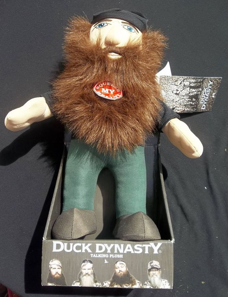 Duck Dynasty Talking Jase Plush Toy Duck Commander A&E