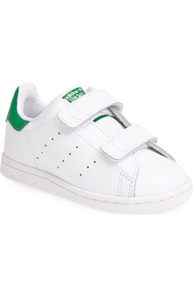 size adidas \u0027Stan Smith\u0027 Leather Sneaker (Baby, Walker \u0026 Toddler) available  at