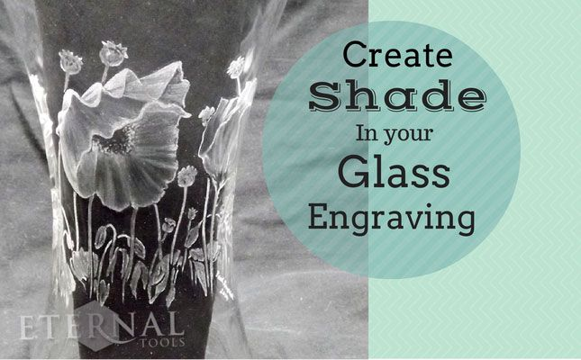 How to Create shade in your glass engraving. We followed Paul Amphletts quest to extend his knowledge and skills of shading in glass engraving. The tools he used and his tips.