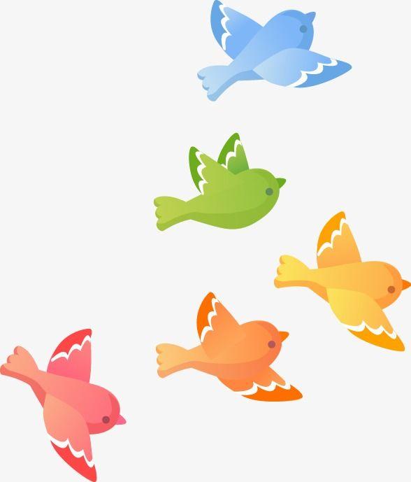 Cute Cartoon Bird Gratis Png E Vetor Passaros Fofos Arte Vetorial Passaros