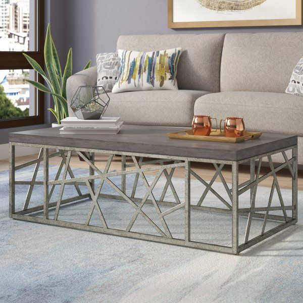 Lend Your Living Room A Splash Of Energetic Style With This Chic Contemporary Coffee Table Made Coffee Table Granite Coffee Table Small Living Room Furniture