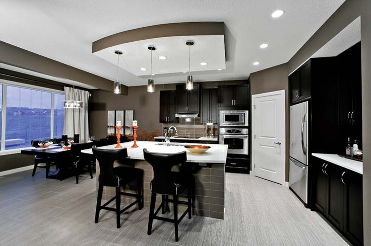Kitchen in Leera Showhome in Sherwood in NW Calgary, Alberta, by Shane Homes