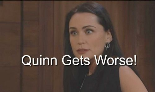 The Bold and the Beautiful (B&B) Spoilers: Quinn Crosses Another Line with Liam – Is it Sex, Drugs or Death?