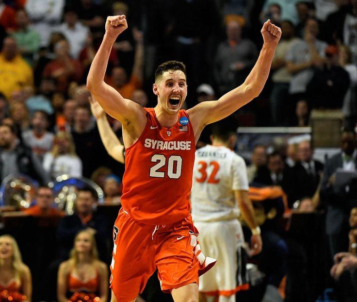"""Beobachten: Carmelo Anthony fasst Syracuse Basketballs Final Four-Lauf zusammen: """"Es heißt Ausdauer""""  – Syracuse Basketball"""