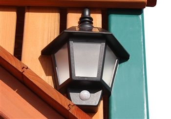 Solar Wall Light - Swing Set Accessories and Add-ons