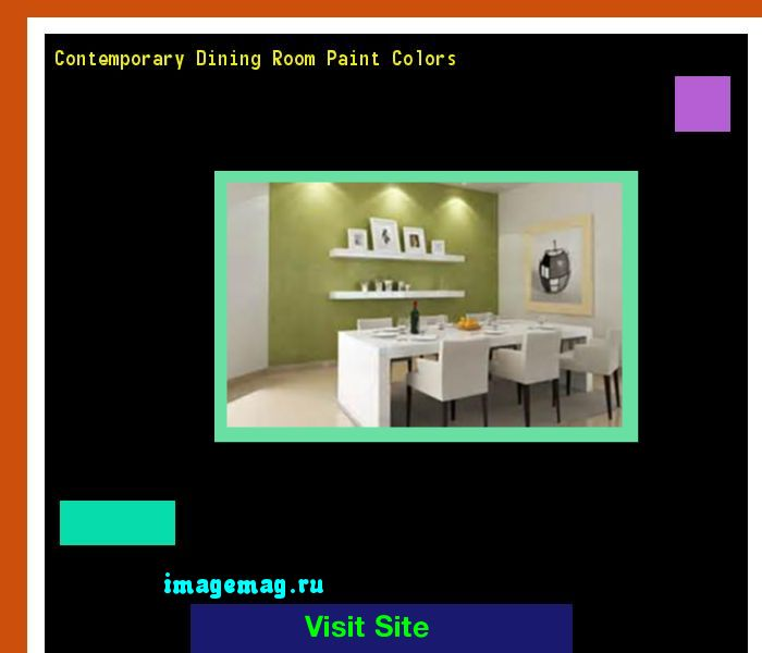 Contemporary Dining Room Paint Colors 131601 - The Best Image Search