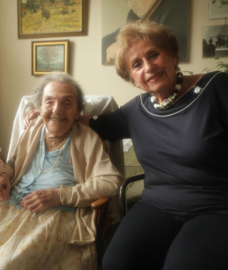 110 year old Alice Sommer, the worlds oldest pianist and holocaust survivor and her fellow Holocaust survivor Zdenka