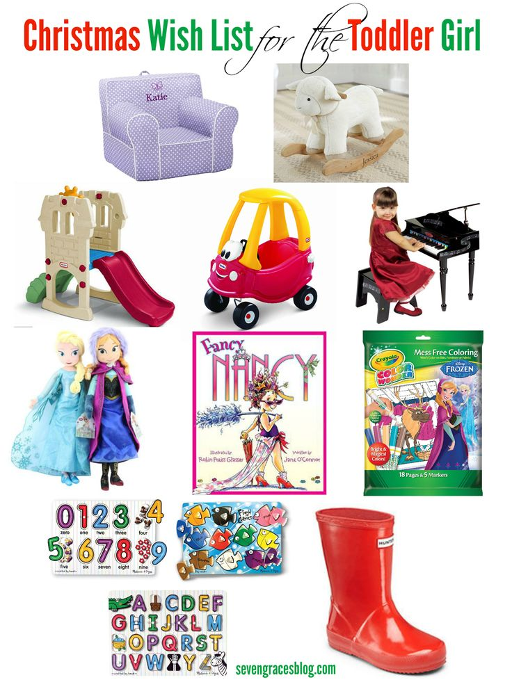 Christmas Wish List For The Toddler Toddler Girls