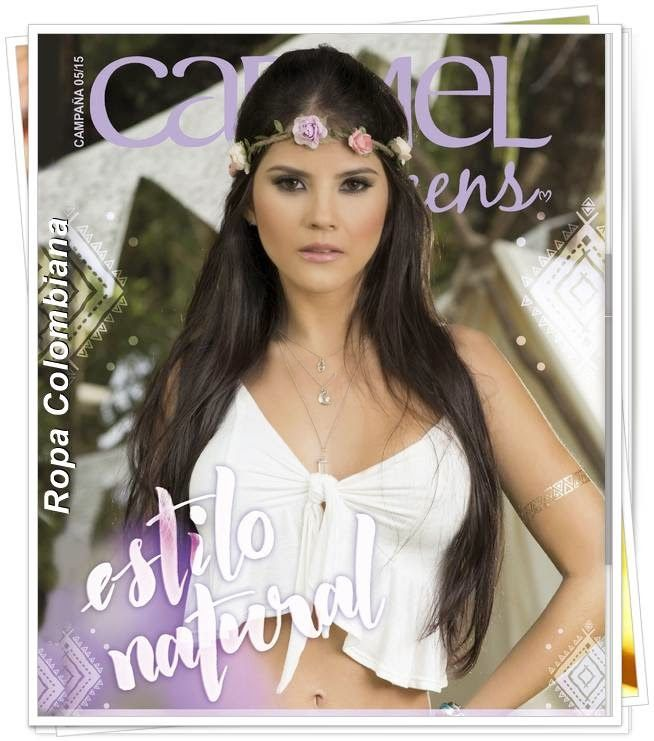 Catalogo Carmel Teens Campaña 5 2015. Moda de Colombia