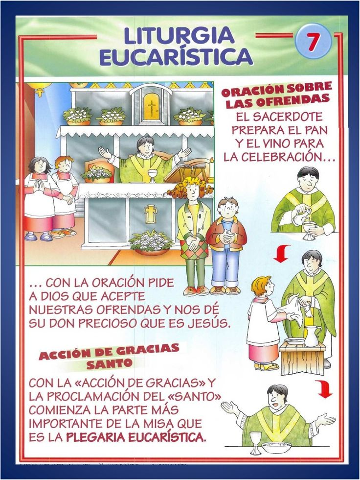 ¿Cómo explicar las partes de la misa a los niños? Aquí tienes una forma de hacerlo.  Puedes imprimir las láminas e irlas pegando a la manera...