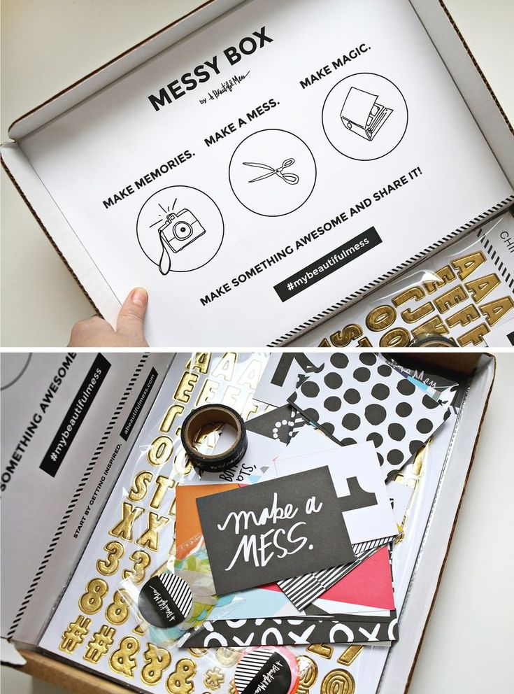 A Beautiful Mess - Messy Box and Messy Book. Coming soon