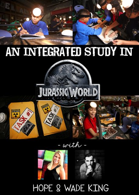 Welcome to Jurassic World. This is a must see blog with videos. You will not be disappointed. Hope and Wade King teach at the Ron Clark Academy. Enough said!