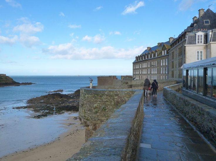 La ciudad fortificada de Saint-Malo