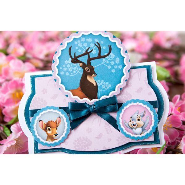 Disney Bambi Paper Kit No Colour