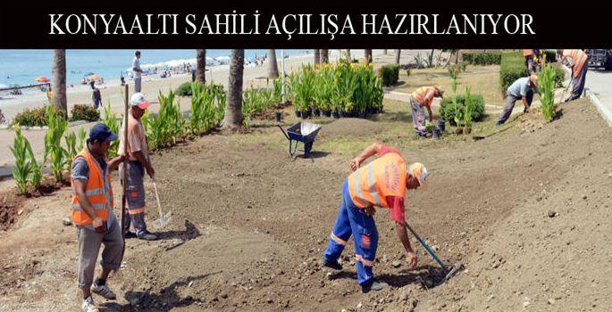 Antalya Büyükşehir Belediyesi ; Konyaaltı sahilinde ücretsiz olacak 7 bin şezlong, 3 bin 500 şemsiye ve sehpanın sahile yerleştirilmeye başladı. #antalya #haber