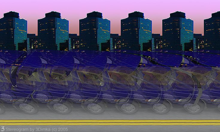 Stereogram - 3D Image