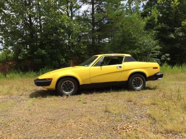 1976 Triumph TR7 - $5200 Murphy, NC #ForSale #Craigslist ...