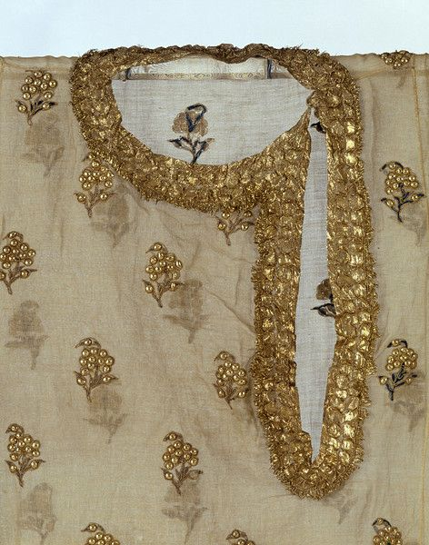 detail of kurta, 1855, Pakistan
