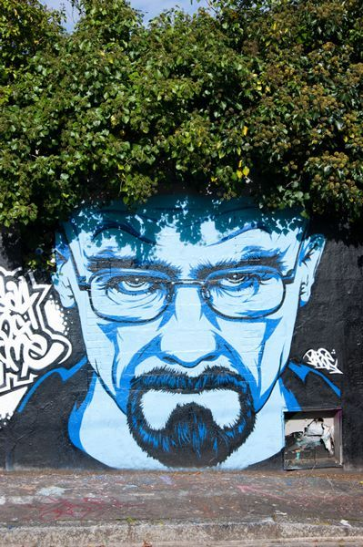 Portrait breaking bad....There is something so fascinating about this style of art