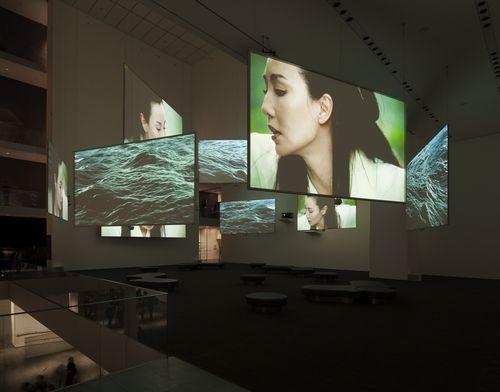 Isaac Julien. Ten Thousand Waves. 2010. Nine-channel video installation (color, sound). 49:41 min. The Michael H. Dunn Memorial Fund....