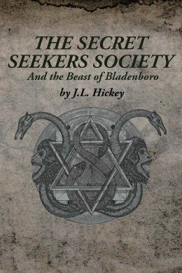"""Art cover for the book """"Secret Seekers Society""""."""