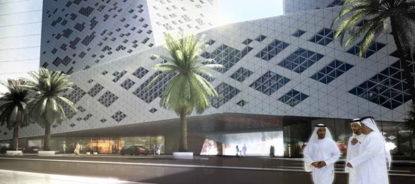 Crystal Towers :: Henning Larsen Architects