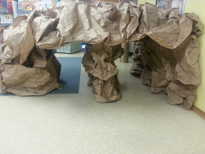 My paper cave
