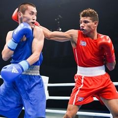 Men's Fly 52kg Semifinal - AIBA World Boxing Championships