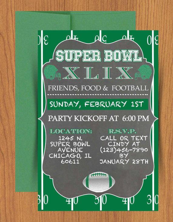 Update: Super Bowl LII DIY printable chalkboard #SuperBowl LII
